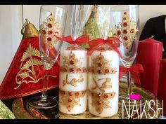 Personalized candles / by Naksh - YouTube