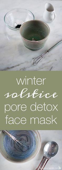 Winter Solstice Pore Detox Face Mask