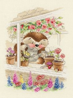 Cottage Window - Country Companion Cross Stitch Kit
