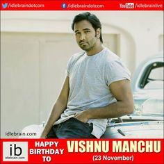 Happy Birthday to Vishnu Manchu (23 November) - idlebrain.com