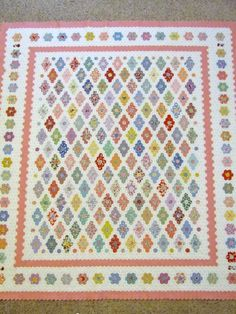 Awesome hexagon quilt