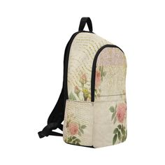 Doree Rose by PiccoGrande Fabric Backpack for Adult (Model Stitch Lines, Outdoor Travel, Fashion Backpack, Back To School, Mothers, Backpacks, Gift Ideas, Rose, Floral