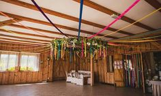 Folk boho wedding decoration colourful wedding party