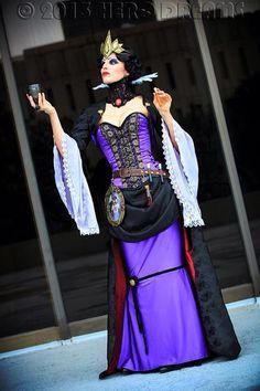 Steampunk Evil Queen by tee-kyrin.deviantart.com on @deviantART