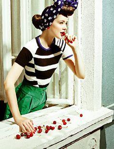 Pin-Up Vintage Fashion Noir Retro Culture Burlesque Movies and more. Pin Up Vintage, Vintage Mode, Vintage Style, 1950s Style, Vintage Glam, Retro Style, Foto Fashion, 1940s Fashion, Vintage Fashion