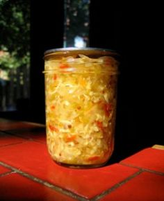 Spicy Squash Relish - for those summer squash and zucchini that overrun the garden!