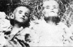 1941: Children in the Stara Gradiska concentration camp dying of slow starvation. The government of the satellite state of Croatia ordered caustic soda to ...
