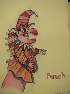 A sketch of Mr Punch