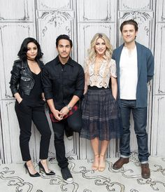 It's finally back! FOX's Grease: Live airs this Sunday, January 31. Dancer Julianne Hough stars as Sandy and Les Mis actor Aaron Tveit will be Danny Zuko. Vanessa Hudgens and Carlos PenaVega join in as Rizzo and Kenickie.