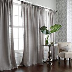 Linen Window Panels