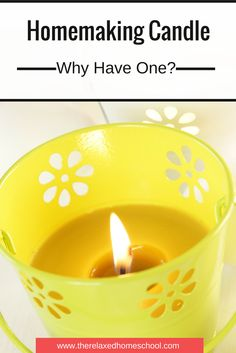 What is a homemaking candle and how to use one??
