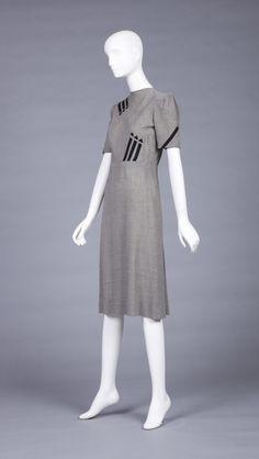 Unknown maker 1943-44  Wool w/felt appliqués