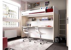 Dormitorio Infantil con Litera Abatible