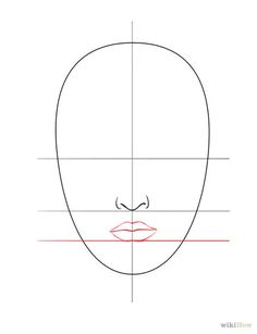 Titel afbeelding Draw a Face Step 4