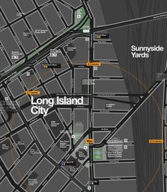 NYC to add citywide 'wayfinding' maps to encourage walking, and benefit local business. Map Signage, Wayfinding Signs, Signage Design, Urban Mapping, H Design, Graphic Design, Urban Design, Game Design, Long Island City