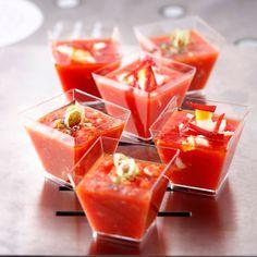 Découvrez la recette Gaspacho andalou sur cuisineactuelle.fr.                                                                                                                                                                                 Plus