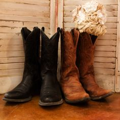 His And Hers Cowboy Boots - Boot Hto