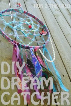 DIY Dream catcher. Always wanted one of these