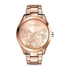 Uhr ES-Esmee Rose Gold Und Armband Esprit ES107282006…