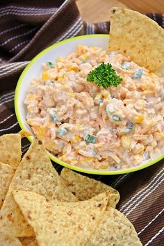 Cowboy Corn Dip ~ The Kitchen Life of a Navy Wife