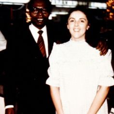 Barack's mother and father