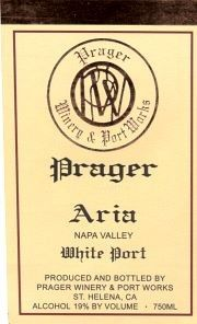 Prager's Aria White Port (Napa Valley)