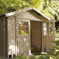 Abri de Jardin Leroy Merlin, promo Abri de jardin en bois Orchidée ...