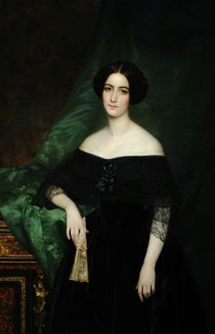 Mary Matthews (1823–1890), Madame de La Chere  by Sophie Rude Date painted: 1843