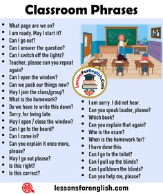 English Classroom Phrases I am sorry. I did not hear. Can you speak louder, please? Which book? English Grammar For Kids, English Vocabulary Words, Learn English Words, English Phrases, English Idioms, English Language Learning, English Lessons, Teaching English, English Books For Kids