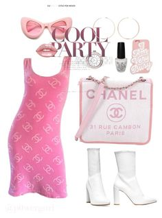 """I'll catch up with you l8r"" by powergurl-1 on Polyvore featuring Karl Lagerfeld, Stuart Weitzman, Chanel, ZeroUV, Anita Ko, Lime Crime, ban.do, OPI, modern and vintage"