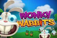 Descrizione della video slot Wonky Wabbits™: Wonky Wabbits ha come ambientazione un giardino di primizie infestato da famelici conigli, che spunteranno dal terreno mangiando una delle primizie e lasciando lo spazio per un Wild! #slots #slotmachine #Casino #casinogames