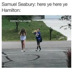 lol it works whether you have Hamilton with the trumpet or seabury with the trumpet Hamilton Lin Manuel, Lin Manuel Miranda, 100 Memes, Funny Memes, Theatre Nerds, Theater, Musical Theatre, Hamilton Musical, Out Of Touch