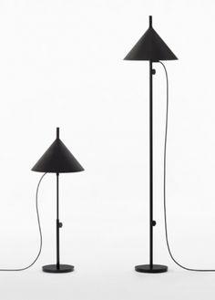 Lampy z serii w132, zaprojektowane przez japoński zespół designerów Nendo dla szwedzkiego producenta Wästberg.