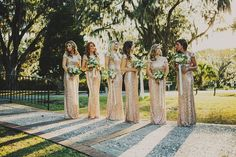 Shinning Backless Sequined Long Party Bridesmaid Dress - Meet Yours Fashion - 9