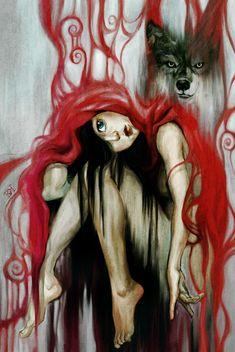 Little Red Riding Hood #street art #grafitti