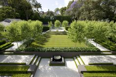 Peter Fudge Gardens French inspired