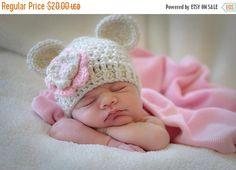 ON SALE Toddler Crochet Hat, Toddler Girl Crochet Hat with Ears | I Crochet World