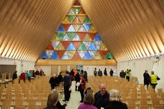 Gallery of Newly Released Photos of Shigeru Ban's Cardboard Cathedral in New…