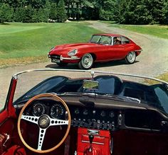 I posted the Jaguar d type, now here is the Jaguar e type