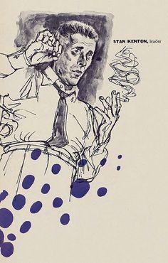 Stan Kenton - Inducted in 1954 Readers Poll