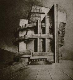 Nikolai Ladovskii's studio at VKhUTEMAS (1920-1930) | The Charnel-House