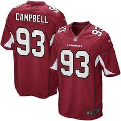 Calais Campbell Arizona Cardinals Youth Nike Team Color Game Jersey - Cardinal - $44.99