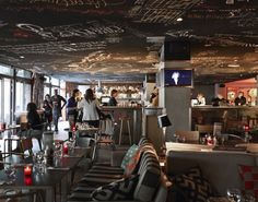 Mama Shelter Paris | Restaurant, bar et pizzeria design par Starck « Mama Shelter