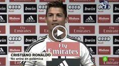 """Cristiano responde a Mou: """"Yo no escupo en el plato donde como""""  Cristiano Ronaldo dio su primera rueda de prensa en este nuevo curso. El nuevo proyecto, su renovación, la llegada de Zidane, su nueva posición en el campo con Ancelotti y, por supuesto.."""