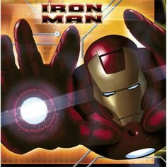 Iron Man Luncheon Napkins (16)
