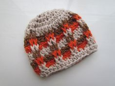 crochet hat patterns Front Post Checker Hat di CrochetMyLove