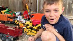 Garbage Truck Videos For Children l Bruder Mack Granite  Garbage Truck A...