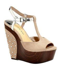 "My favorite heel-shoe brand- Gianni Bini!! These are called ""Nicolette""... and soooo comfy!!"