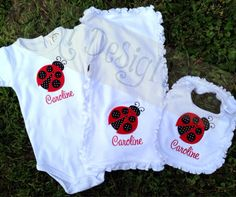 3 piece baby gift set by DoKiDesign on Etsy, $43.00