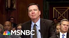 White House Weighing Attempt To Block James Comey Testimony   All In   M...